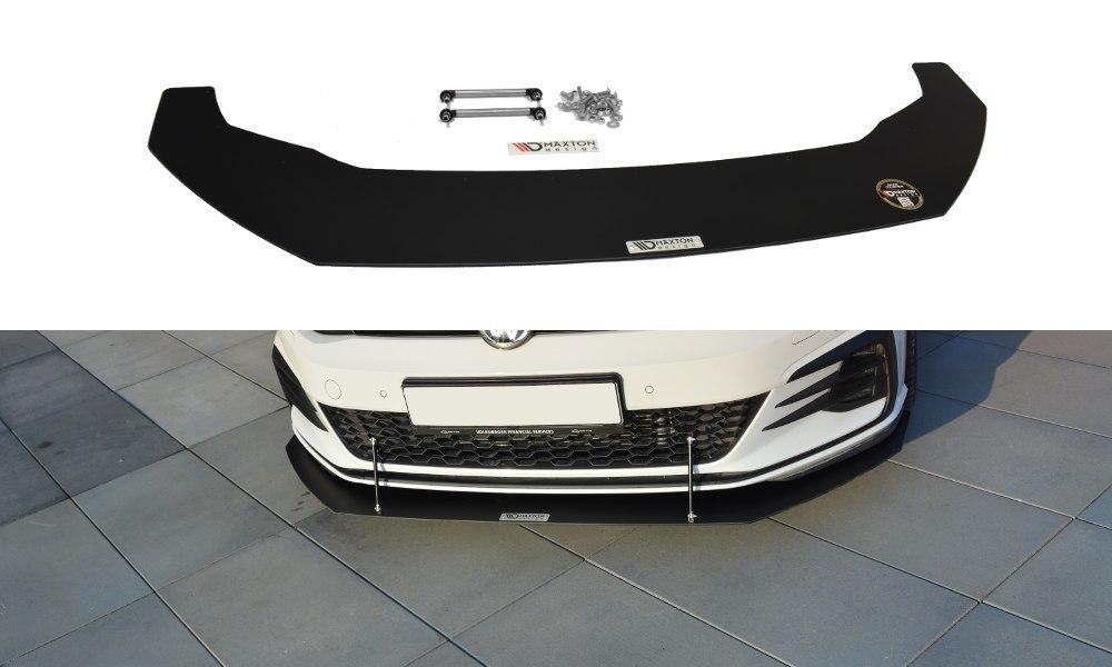 Splitter Przedni V.1 VW Golf 7 GTI Facelift Racing - GRUBYGARAGE - Sklep Tuningowy